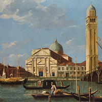 Giovanni Antonio Canal, called Canaletto and studio Venice, San Pietro di Castello