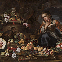 MICHELANGELO PACE, CALLED MICHELANGELO DEL CAMPIDOGLIO AND BERNHARD KEIL CALLED MONSU' BERNARDO   STILL LIFE