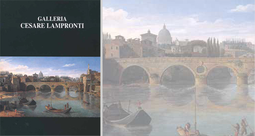 PITTORI DI VEDUTE, DI PROSPETTIVE E DI PAESAGGI NELLA ROMA DEL '600 E '700     Marzia Moschetta ed.