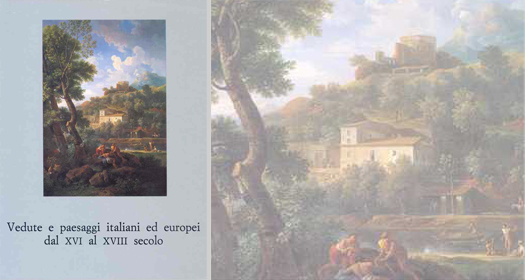 VEDUTE E PAESAGGI ITALIANI ED EUROPEI DAL XVI AL XVIII SECOLO     Giancarlo Sestieri ed.