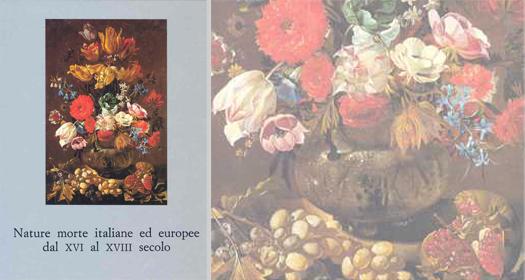 NATURE MORTEITALIANE ED EUROPEE DAL XVI AL XVIII SECOLO     Giancarlo Sestieri ed.