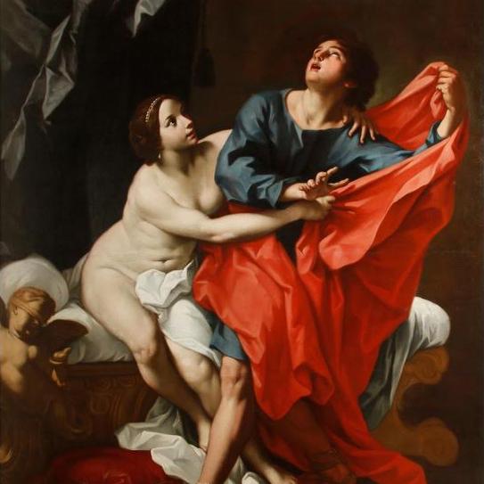 Carlo Cignani Joseph and Potiphar's Wife