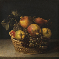 Panfilo Nuvolone Basket with Fruit