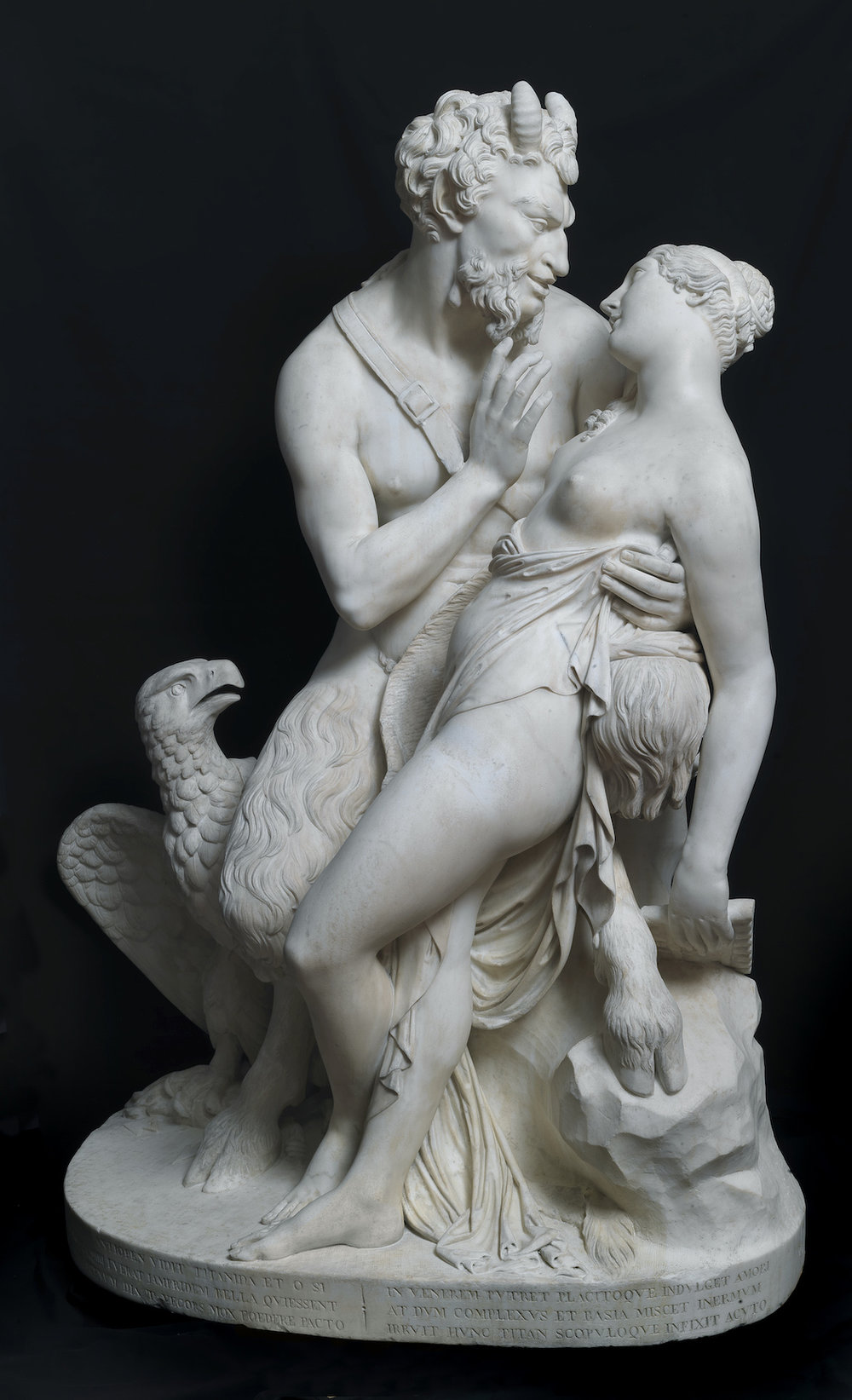 FRANCESCO POZZI   JUPITER IN THE GUISE OF A SATYR SEDUCES ANTIOPE