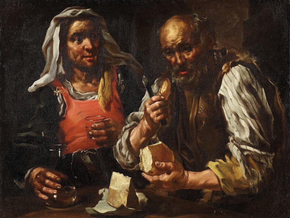 KEILHAU EBERHARD called MONSU' BERNARDO ALLEGORY OF TASTE
