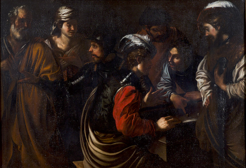 BARTOLOMEO MANFREDI THE DENIAL OF ST. PETER