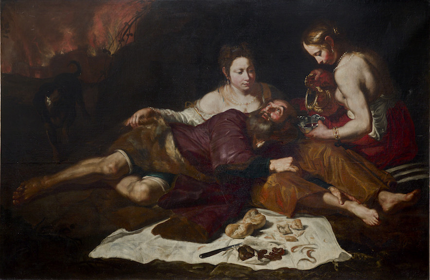 GIOACCHINO ASSERETO LOT & HIS DAUGHTERS