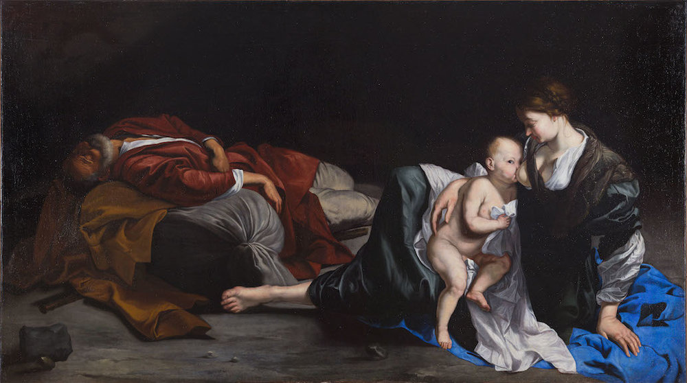 ORAZIO GENTILESCHI REST ON THE FLIGHT INTO EGYPT