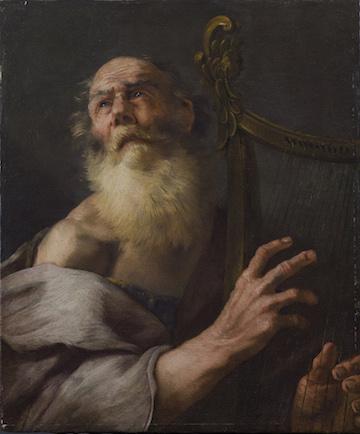 LUCA GIORDANO KING DAVID