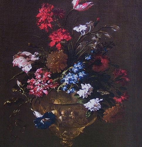 MARIO NUZZI DETTO MARIO DE' FIORI   VASE OF FLOWERS