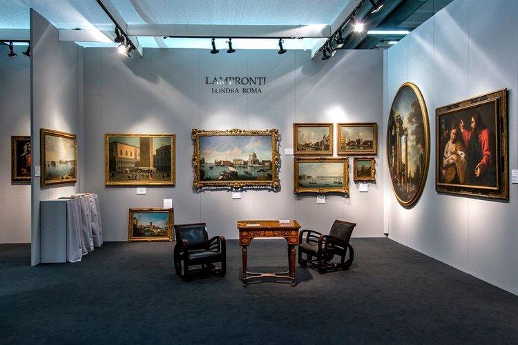 VIRTUAL TOUR STAND GALLERIA LAMPRONTI, MODENANTIQUARIA XXXII