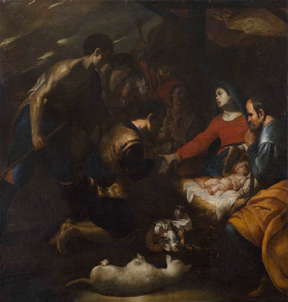BERNARDO CAVALLINO   ADORATION OF SHEPHERDS