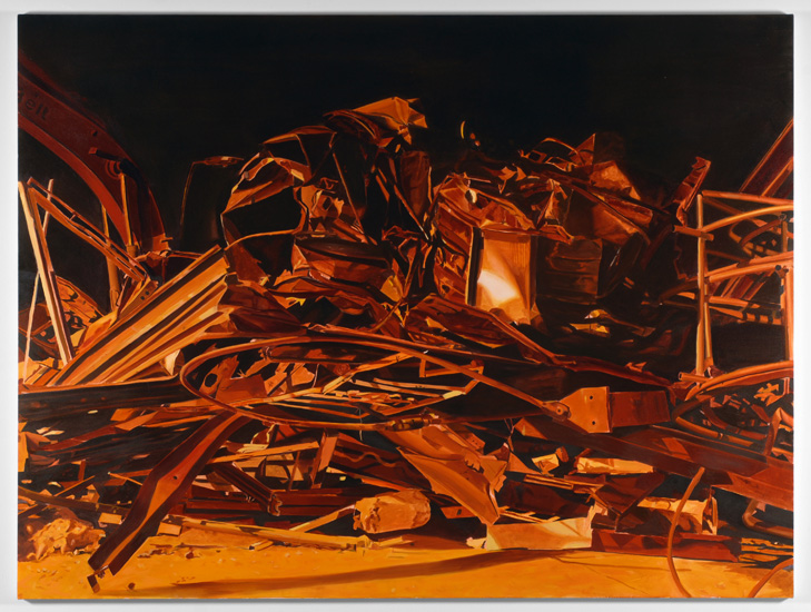 Excavation, 2009, oil on canvas