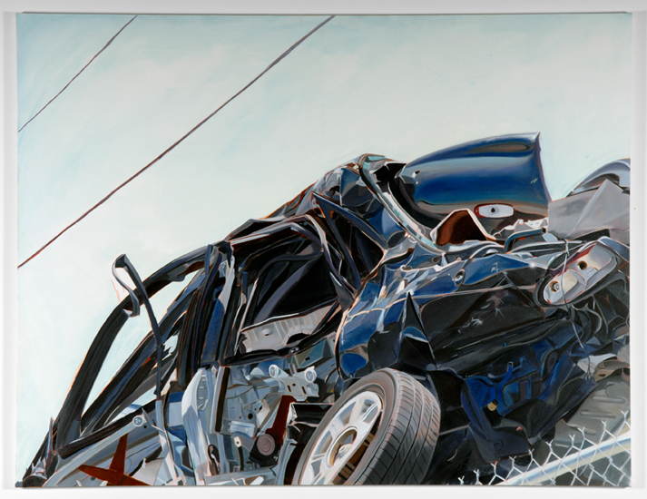 False Start, 2011, oil on canvas