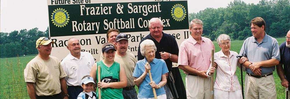 Softball Field Dedication