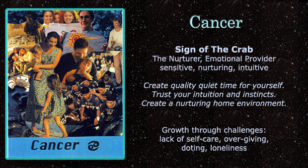AstroActivator Cards created by Kathryn Andren c.2002