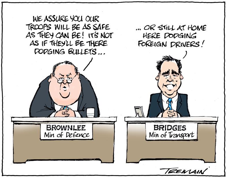 A recent cartoon.