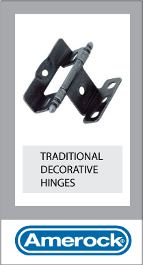 McNamara Glass Fittings Ireland Amerock Inset Full Wrap Partial Decorative Hinges