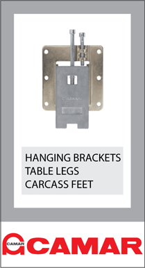 Camar Ireland Hanging Brackets McNamara Glass Fittings
