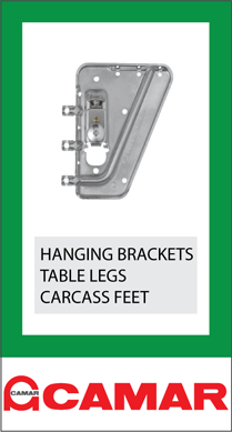 Camar Ireland McNamara Glass Fittings Hanging Wall Brackets Legs