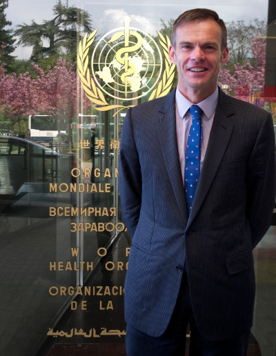 Dr. Tim Armstrong, World Health Organization