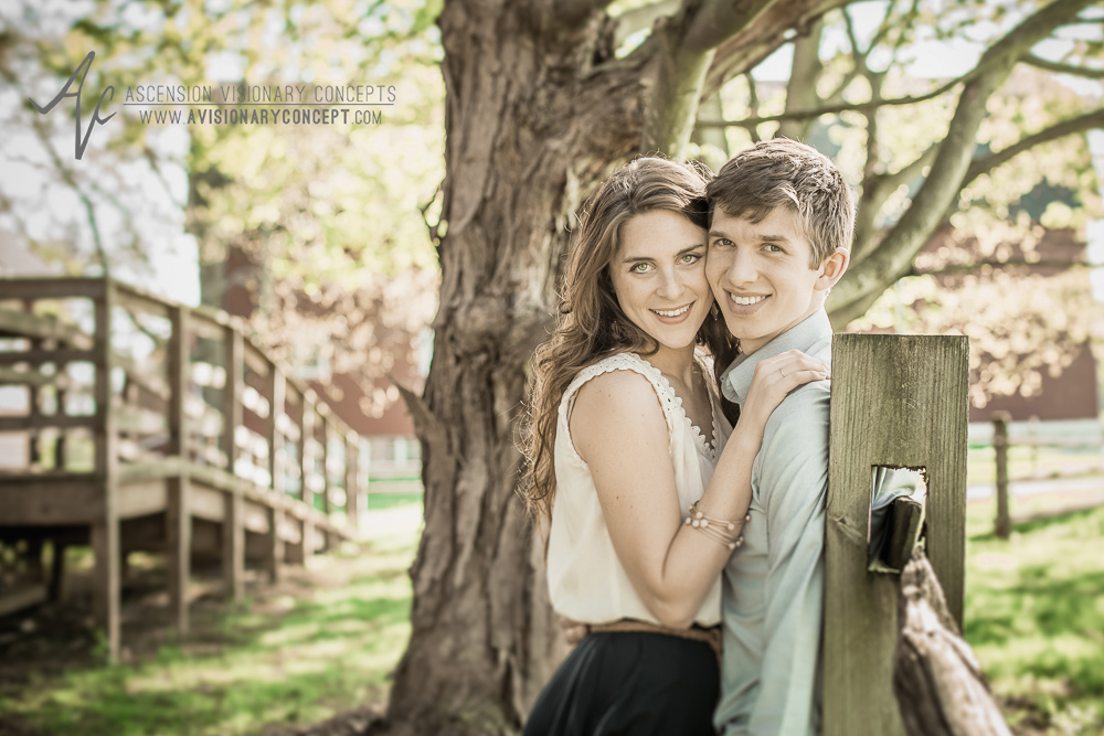 Buffalo Engagement Photography:  Knox Farm