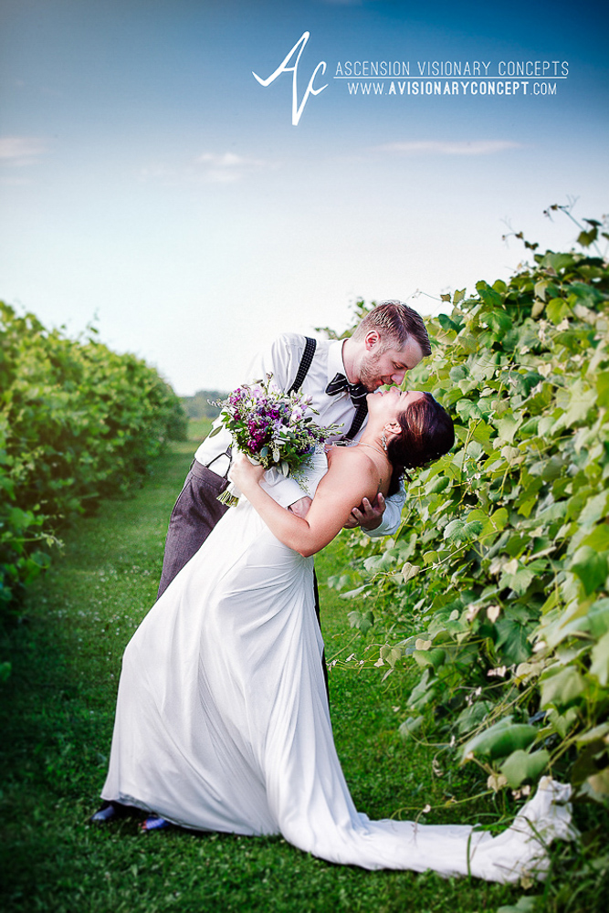 Buffalo Wedding Photography: Vizcarra Vineyards - Becker Farms