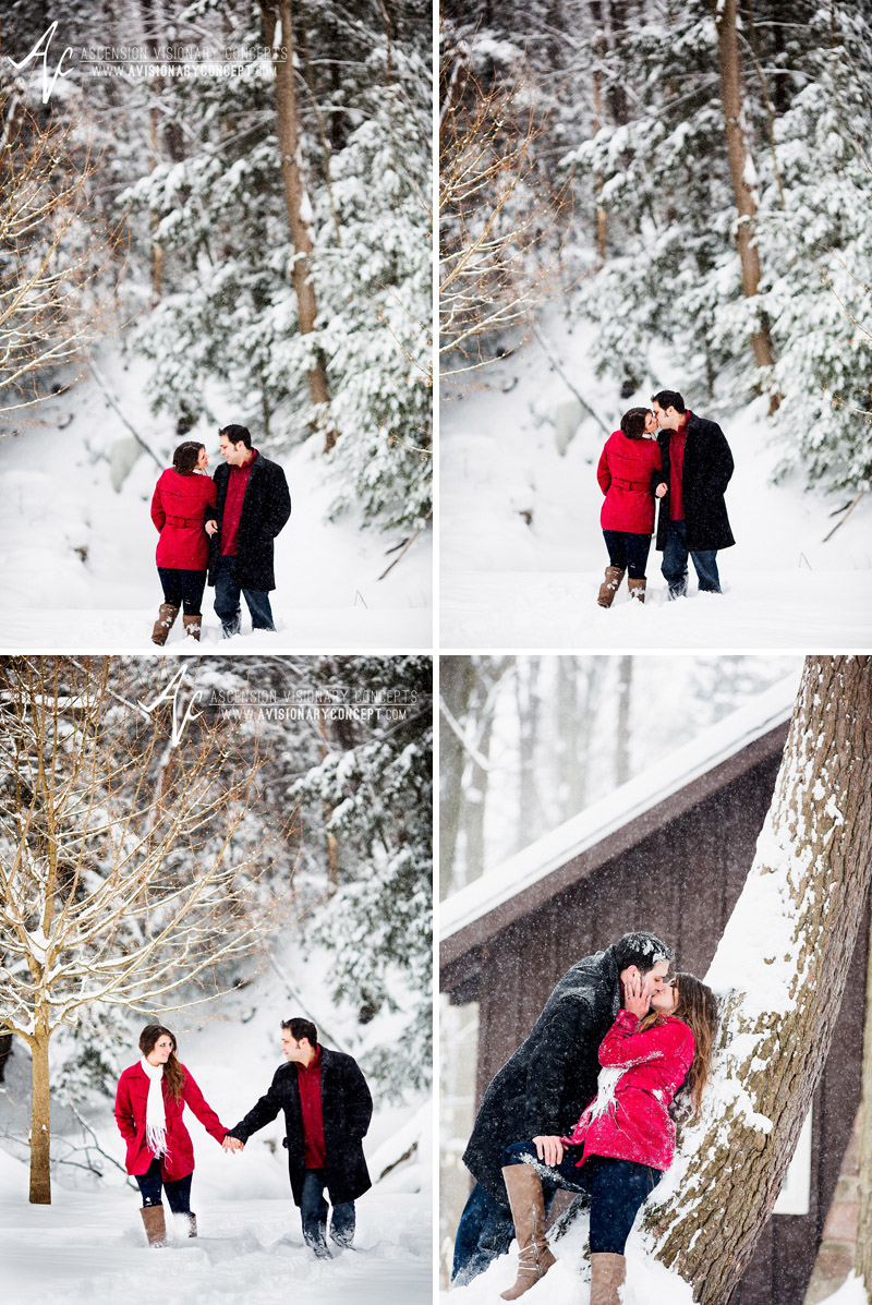 Winter Engagement Photography Buffalo