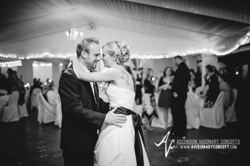 Buffalo Wedding Photography Klocs Grove 017 Bride Groom First Dance.JPG