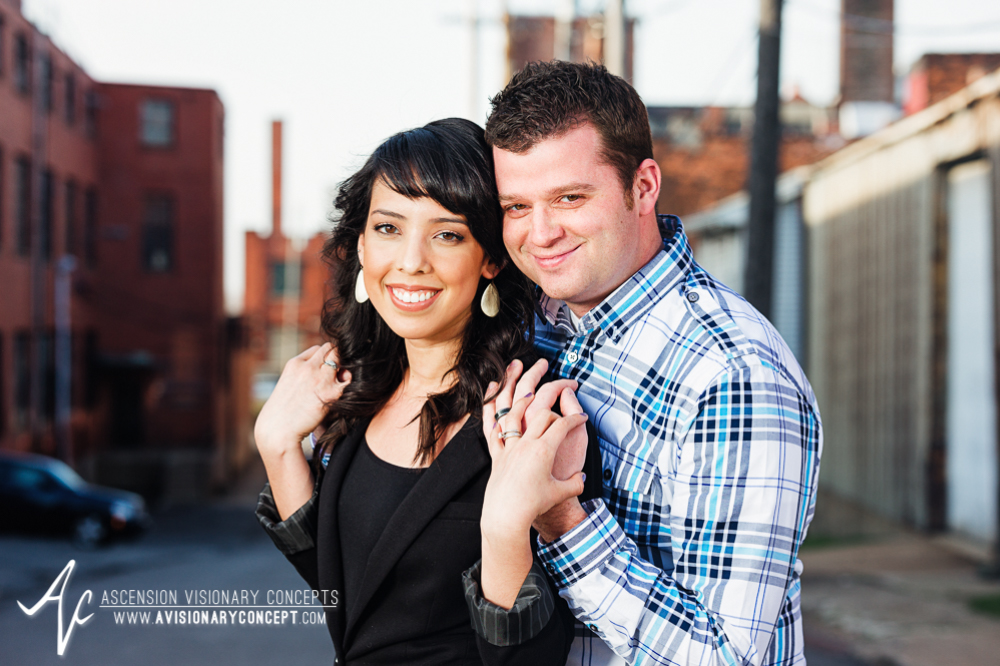 Buffalo Engagement Photography Urban City Anniversary Photography 002 Industrial Buildings.jpg