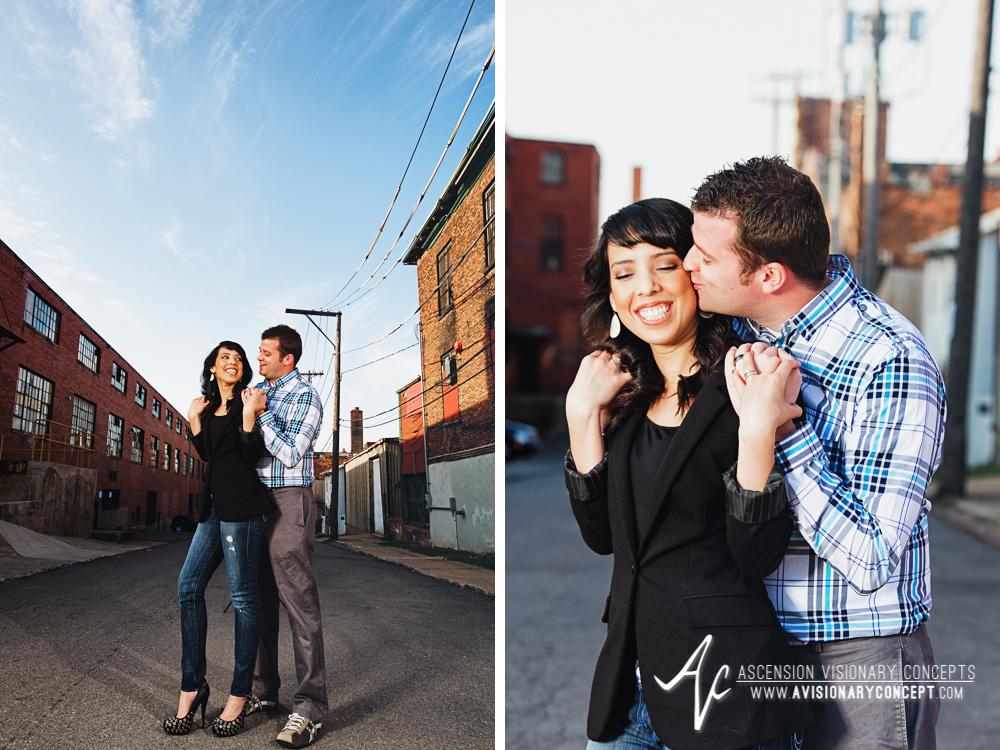 Buffalo Engagement Photography Urban City Anniversary Photography 001 Industrial Buildings.jpg