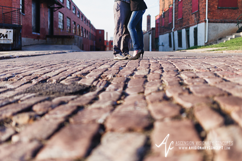 Buffalo Engagement Photography Urban City Anniversary Photography 007 Industrial Buildings Cobblestone.jpg