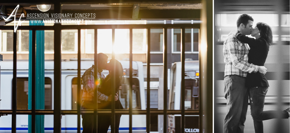 Buffalo Engagement Photography Urban City Anniversary Photography 013 Cityscape Train Subway.jpg