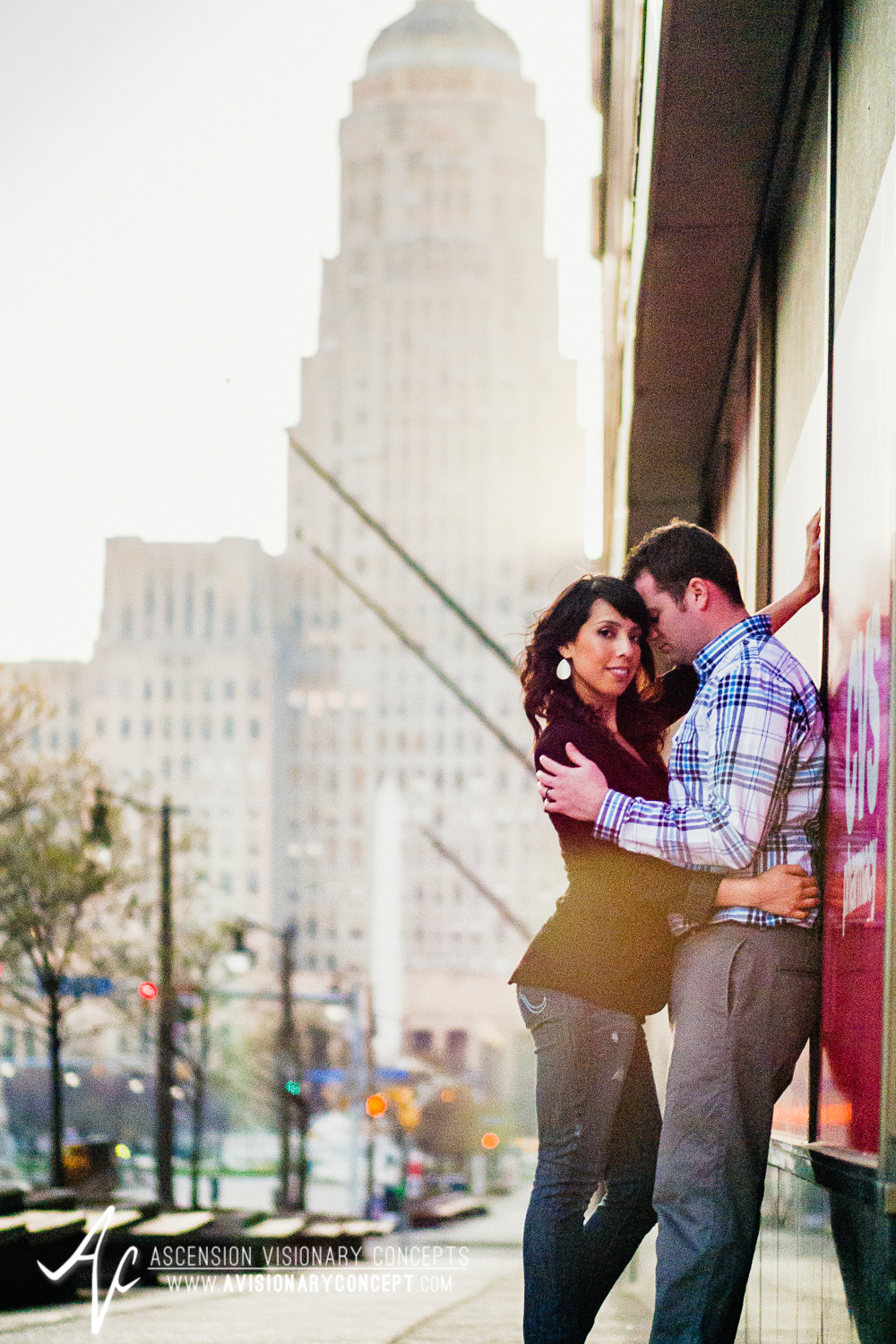 Buffalo Engagement Photography Urban City Anniversary Photography 015 Cityscape Architecture Downtown.jpg
