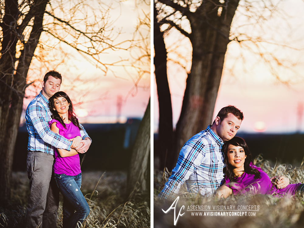 Buffalo Engagement Photography Urban City Anniversary Photography 022 Tall Grasses Sunset Strobist Tifft Nature Preserve.jpg