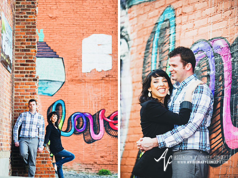 Buffalo Engagement Photography Urban City Anniversary Photography 018a Cityscape Graffiti Wall.jpg