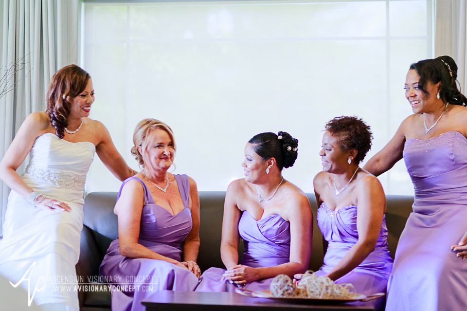 Rochester Wedding Photography 011 - East Avenue Inn & Suites Bride Bridesmaids.jpg