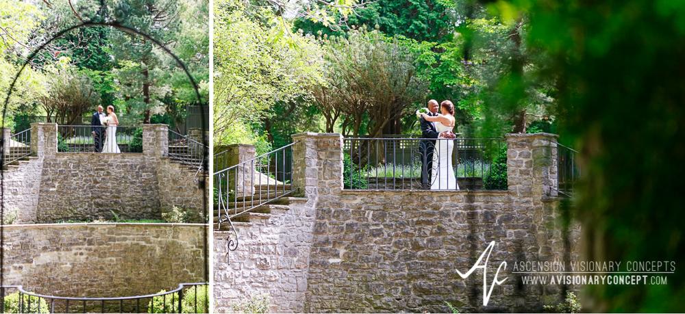 Rochester Wedding Photography 014 - Warner Castle Highland Park Sunken Garden First Looks.jpg