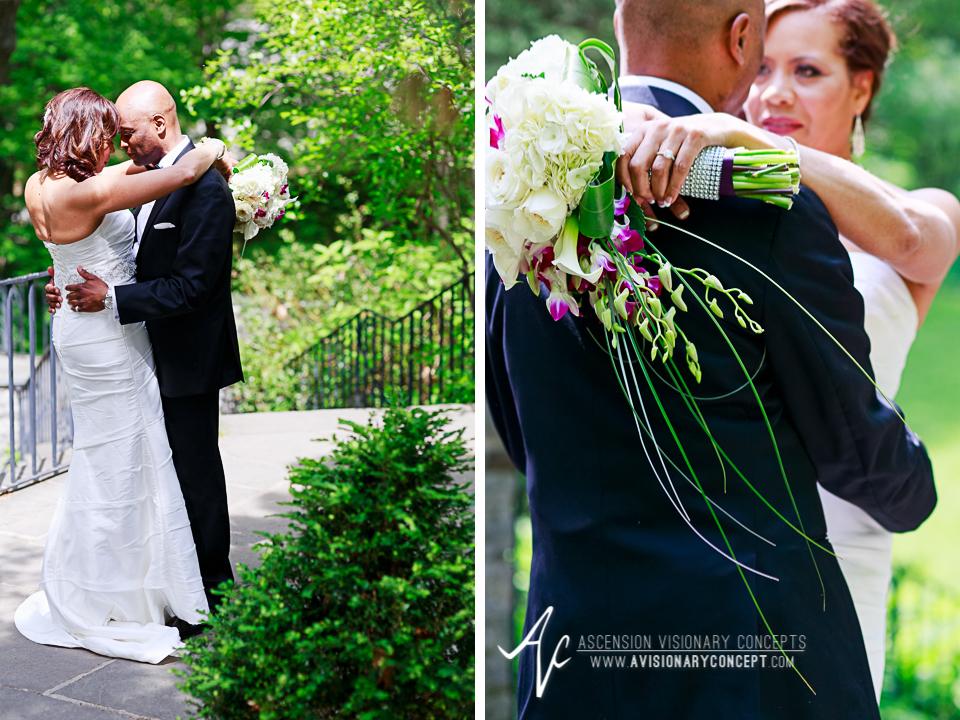Rochester Wedding Photography 016 - Warner Castle Highland Park Sunken Garden First Looks.jpg