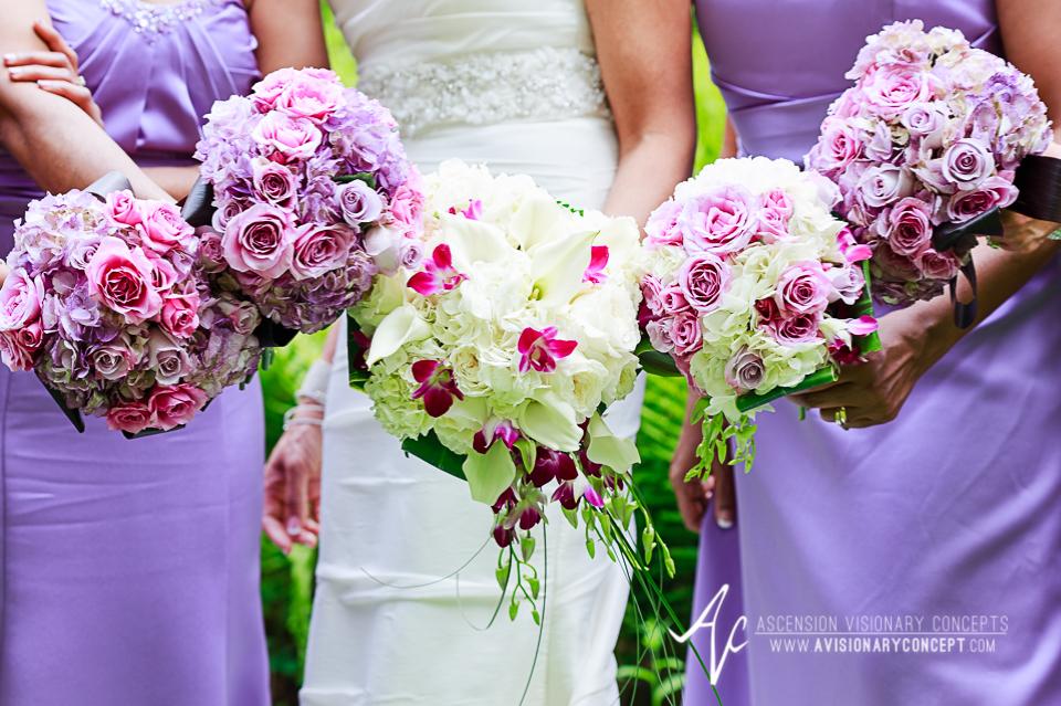 Rochester Wedding Photography 024b - Warner Castle Highland Park Sunken Garden Bouquets.jpg
