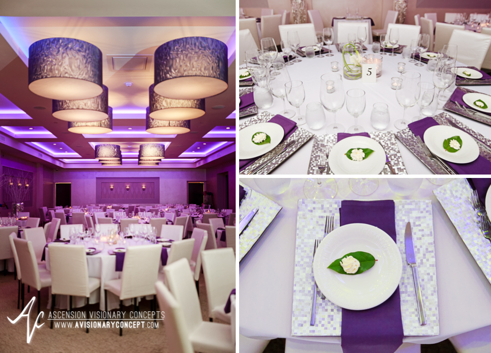 Rochester Wedding Photography 032 - Ballroom 384 Reception Dinner Details.jpg