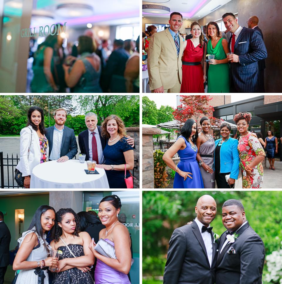 Rochester Wedding Photography 031a - Ballroom 384 Cocktail Hour.jpg