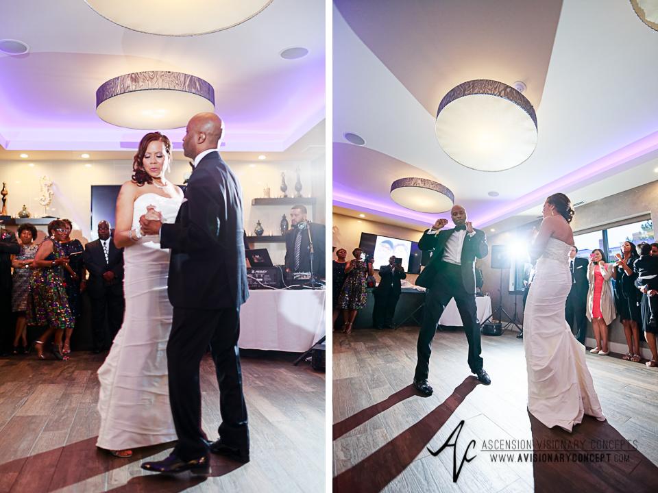 Rochester Wedding Photography 036 - Ballroom 384 Bride Groom First Dance.jpg