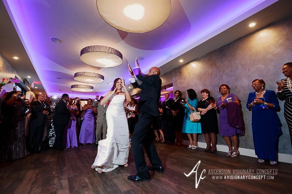 Rochester Wedding Photography 037 - Ballroom 384 Bride Groom First Dance.jpg