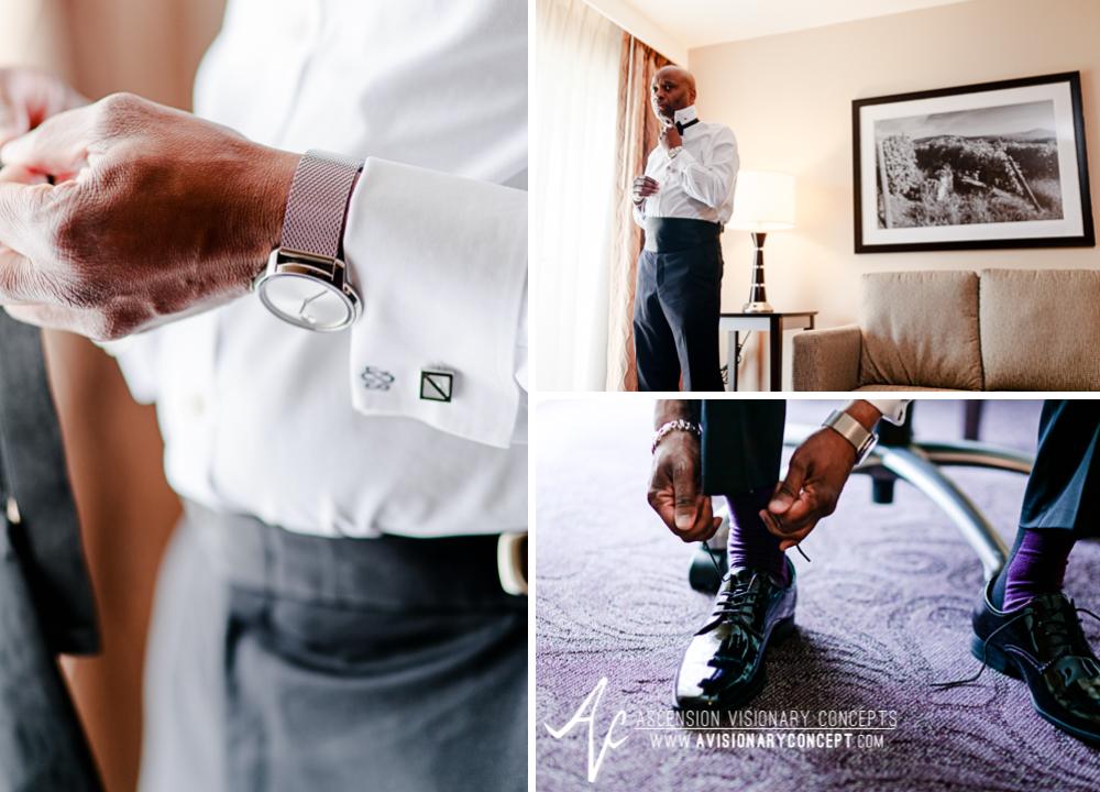 Rochester Wedding Photography 001 - Strathallan Hotel Groom Getting Ready.jpg