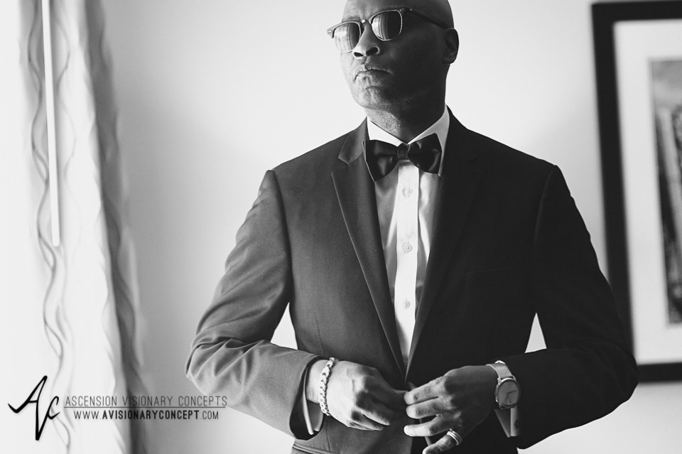 Rochester Wedding Photography 003 - Strathallan Hotel Groom Getting Ready.jpg