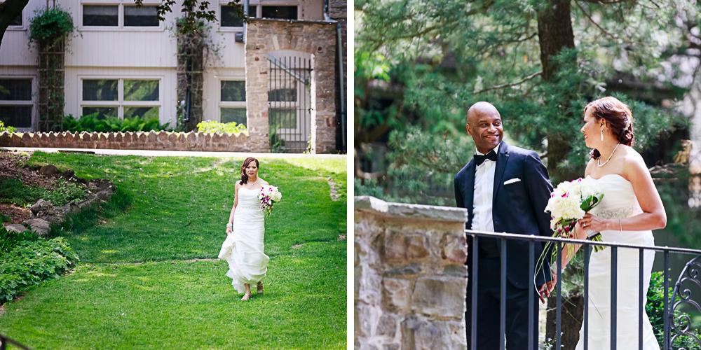 Rochester Wedding Photography 013 - Warner Castle Highland Park Sunken Garden First Looks.jpg
