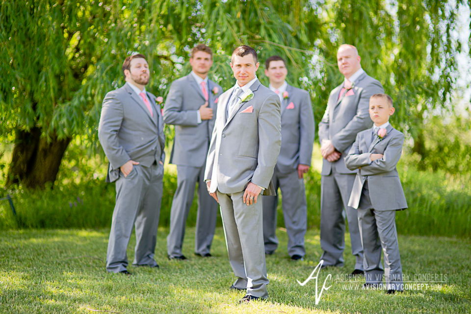 Buffalo Wedding Photography 19 Diamond Hawk Golf Course - Groom Groomsmen Ringbearer.jpg