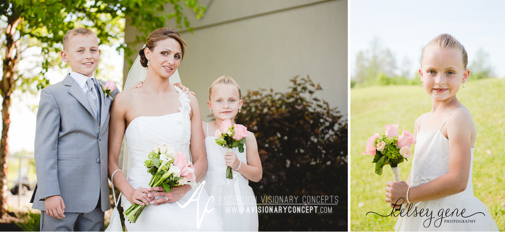 Buffalo Wedding Photography 21 Diamond Hawk Golf Course - Bride Flowergirl Ringbearer.jpg