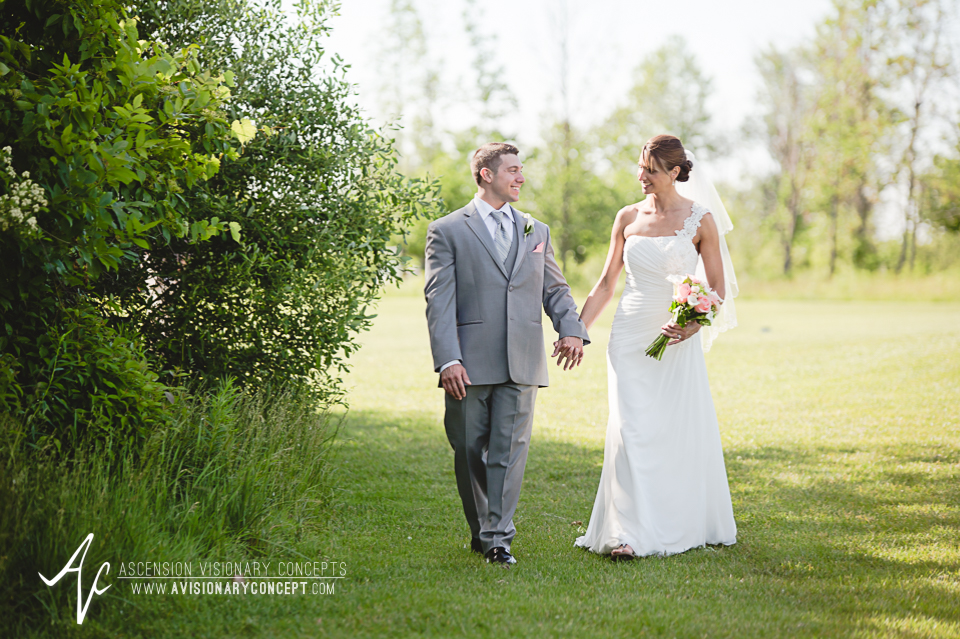 Buffalo Wedding Photography 33 Diamond Hawk Golf Course - Bride Groom Tall Grasses Summer Fields.jpg